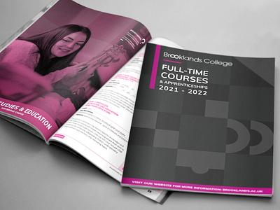 College Prospectus branding vibrant ux ui uiux illustrator graphics graphic design graphic design