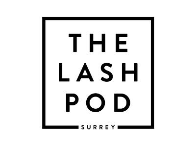 The Lash Pod ui logo branding illustrator uiux typography graphic design graphics graphic design