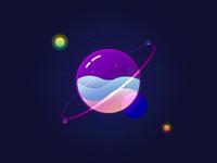 Glass Galaxy 💜