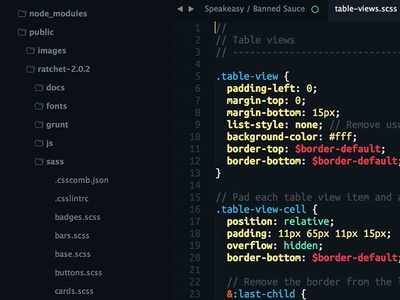 Glacier for Sublime Text