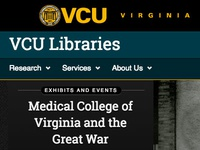 VCU Libraries Homepage Redesign