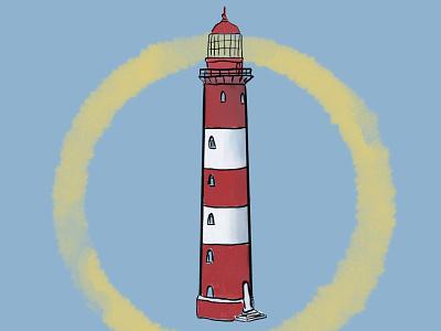 Lighthouse lighthouse light illustration