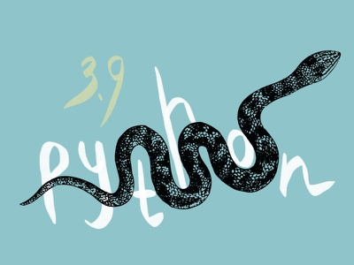 Python 3.9 Beta – Article Cover collage illustration