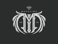 Maculinc logo design