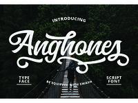 Anghones Script Foont