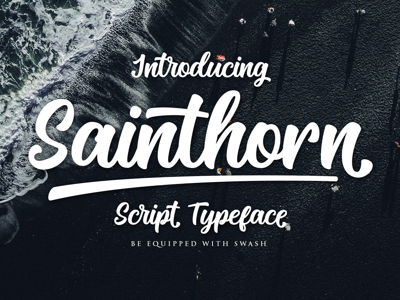 Sainthorn Script Font by Maculinc on Dribbble