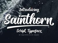 Sainthorn Script Font