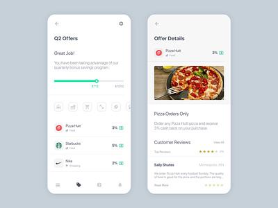 KidzCard Bank Special Offers adobe xd app design bank credit card debit card offers savings review kids ux ui product design