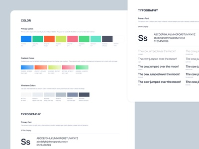 KidzCard Light Brand Guidelines gradient branding ux ui typography color mobile graphic design brand identity brand guidelines