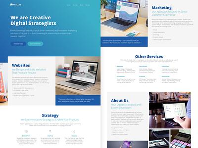 Pixellid Business Website consulting 2020 launch new business pixellid strategy website digital marketing user experience ui design web design responsive front-end development