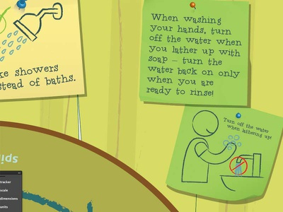 Little Notes 2 illustration notes signage