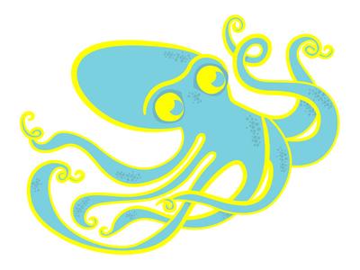 Octopie2 illustration octopus dots