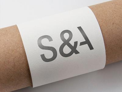Logo S&A tipografia tipography branding sasovsky brand design logo