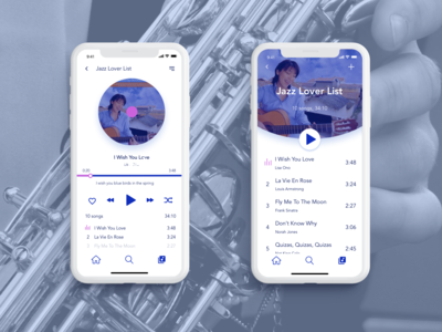 Daily UI Challenge #009 -- Music Player app design music player ui music player music app daily ui 009 dailyui009 daily ui challenge design daily ui ui dailyui