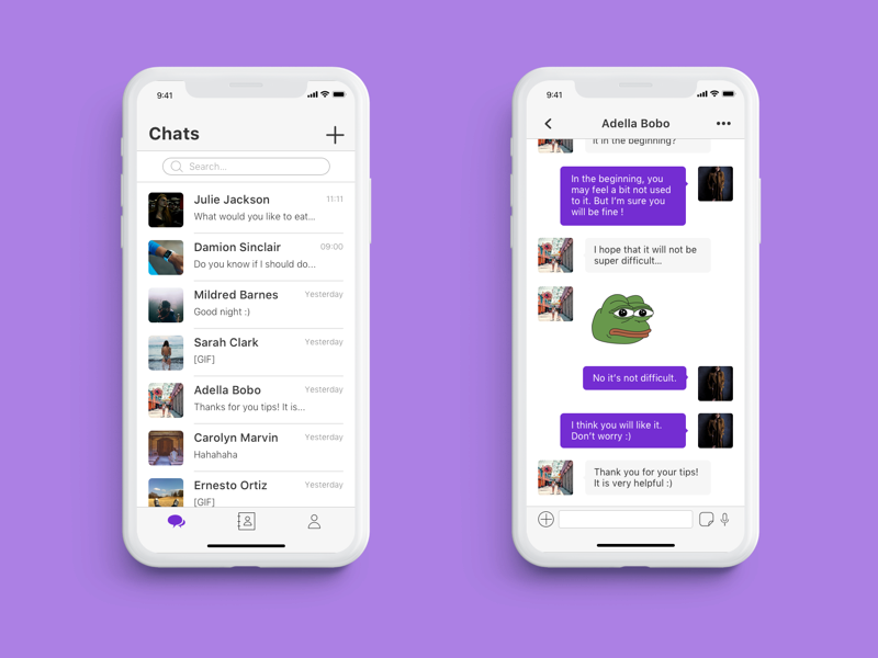 Daily UI Challenge #013 — Direct Messaging ui direct messaging dailyui013 daily ui 013 daily ui challenge dailyuichallenge daily ui dailyui