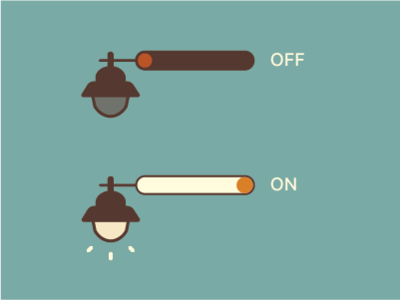 Daily UI Challenge #015 -- On/Off Switch daily ui 015 switch button onoff switch switch daily challange adobe illustrator design daily ui challenge daily ui ui dailyui