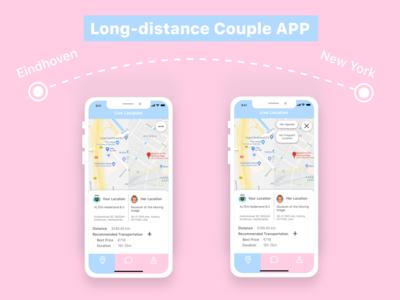Daily UI #020 -- Location Tracker