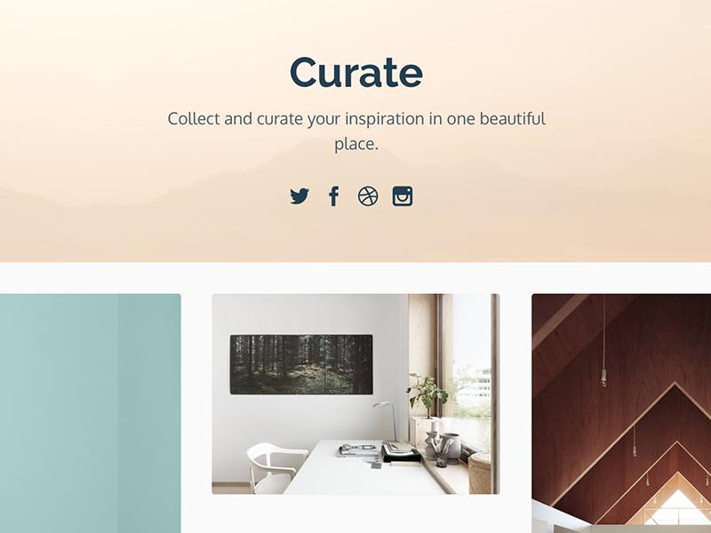 Curate Theme tumblr theme curate themelantic