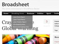 Broadsheet Wordpress Theme