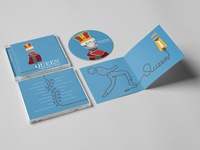 Queen CD Cover Art and Booklet
