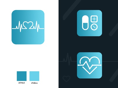 Medical app icon / logo