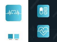 Medical app icon / logo