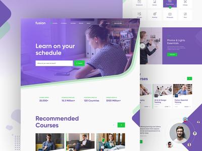Fusion -  Online Learning Platform