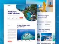 Hotel Landing Page Concept