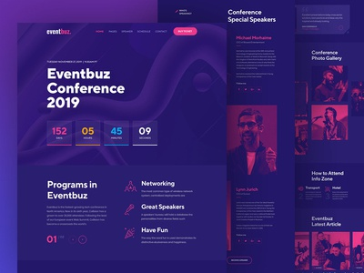 Event & Conference Full Home Page