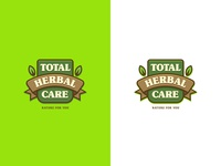 Combination mark logo of 'Total Herbal Care'