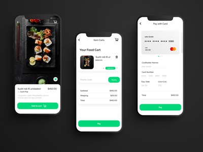 Daily UI #002 - Checkout credit card checkout delivery app delivery ui design uidesign ux app ui design daily ui dailyui
