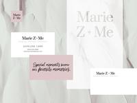 Marie Z + Me Visual Identity