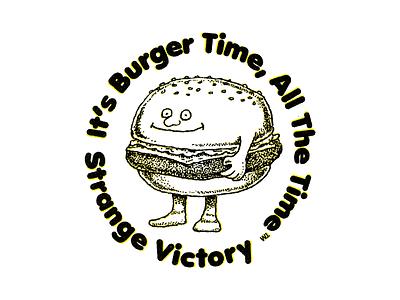 Burger Time burgers time beer strange victory fun beers laughs