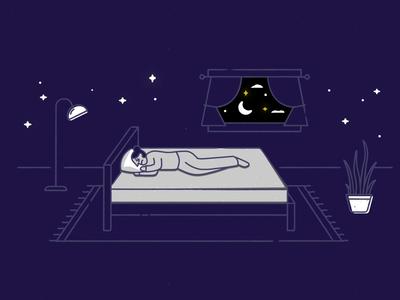 ✨ Kakun ✨ zzz sleep vector cat character gif motion design motion illustration