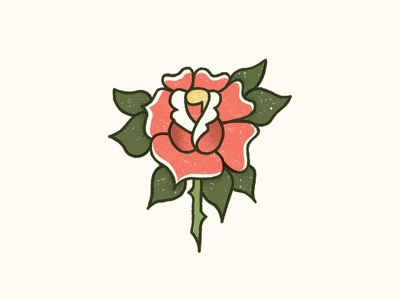 🌹✨🌹 flower rose drawing tattoo texture vector art illustration