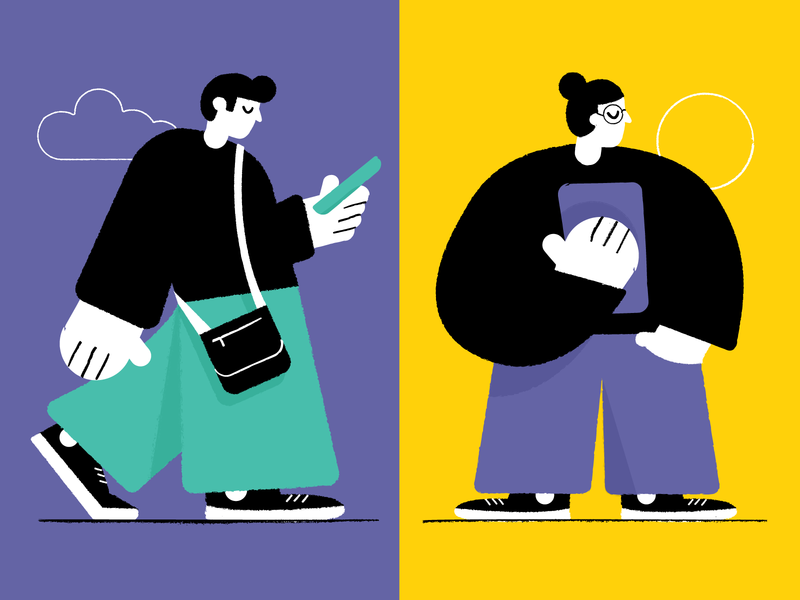 Character experiments characters drawing fun character design character vector art illustration