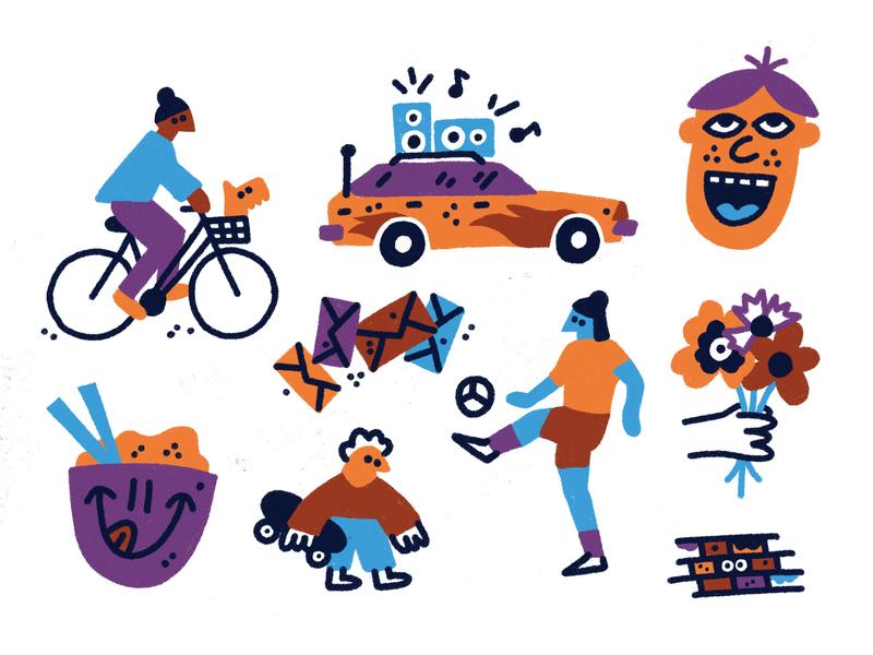 Drawings ✏️ character stuff fun procreate drawing doodle art illustration