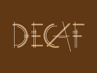 Decaf Typeface