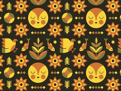 ✨✨✨ surfacepattern repeat folkart art pattern design pattern illustration
