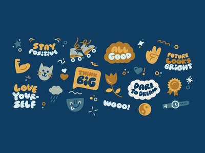Passion Planner 3/3 icon vector illustration sticker newyou newyear 2021 fun