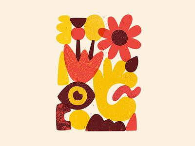 Stacked print stacks texture vector art illustration