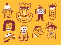 Character doodlin'