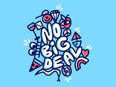 NBD fun nbd stuff procreate drawing illustrating art doodle lettering