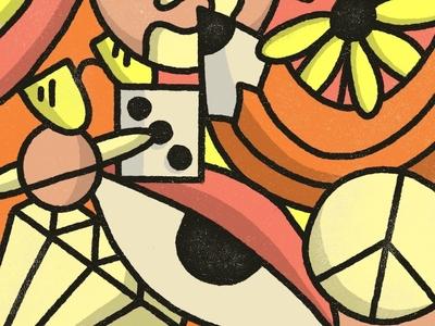 ☀️☀️☀️ sunny texture truegrit procreate sun drawing illustration doodle art
