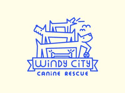 For the doggos vector doggo monowidth probono tshirt dog logo dog
