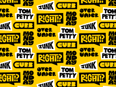 ⚠️ WONKY TYPE EXPERIMENTS ⚠️ type design geometric abc tompetty forfun lettering type