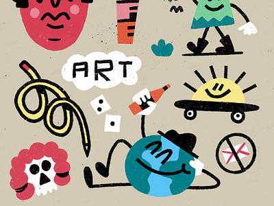 🌎🍺🌎 procreate drawing fun texture doodle illustration art