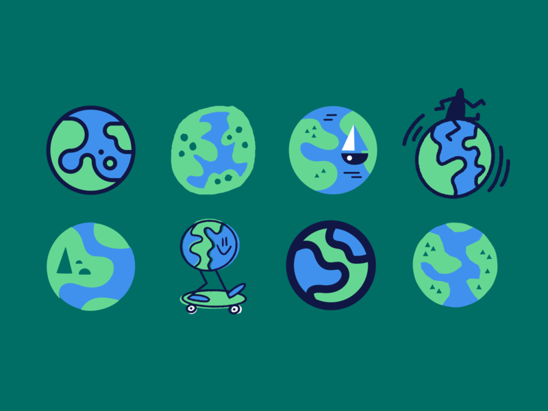 🌎🌍🌏 drawing fun earthday earth vector art illustration