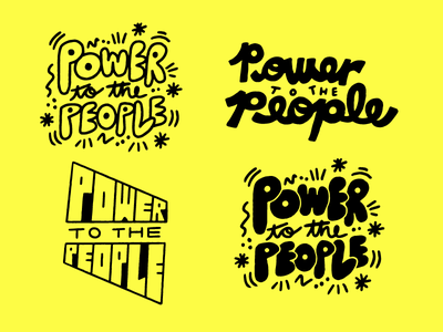 PTTP fun procreate doodle sketch type lettering illustration