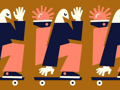 🙌🙌🙌 drawing skateboarding fun texture doodle vector art illustration